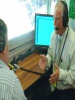 Commentator Robin Jackman