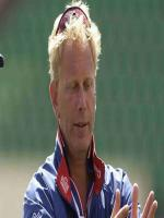 Fast Bowler Graham Dilley