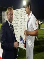 Test Player Hugh Morris