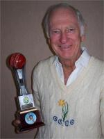 Peter Walker With Award