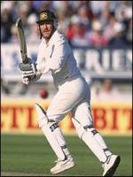 Allan Border in Action