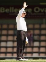 Umpire Paul Reiffel