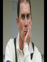 Justin Langer in MAtch