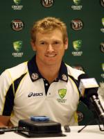 George Bailey at Press Conference