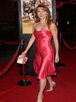 Jane Seymour in red dress