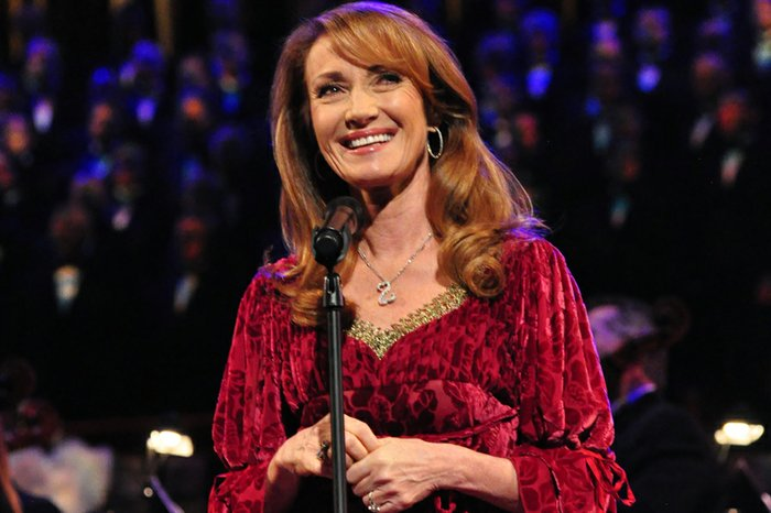 Jane Seymour at christmas