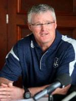 John Bracewell At Press Conference