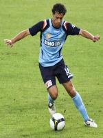 Alex Brosque in action