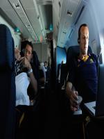 Adrian Madaschi in Plane