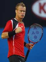 Lleyton Hewitt in Match