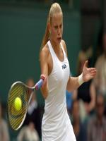Jelena Dokic in Action