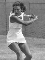 Evonne Goolagong Cawley in Action