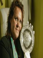 Evonne Goolagong Cawley With Medal