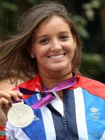 Laura Robson With Medal