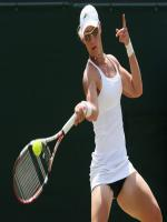 Samantha Stosur in Action