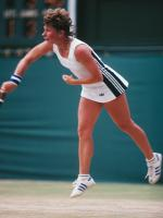 Wendy Turnbull in MAtch