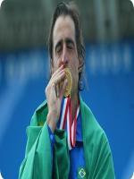 Fernando Meligeni With Medal