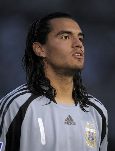 Goalkeeper Sergio Romero