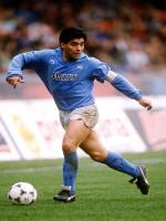 Diego Maradona in Action