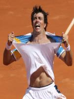 Carlos Berlocq in Action