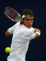 Leonardo Mayer in Action