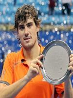 Guido Pella with Award