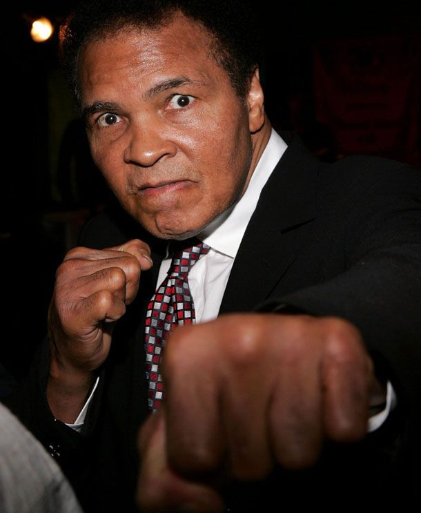 On Muhammad Ali's 70th birthday
