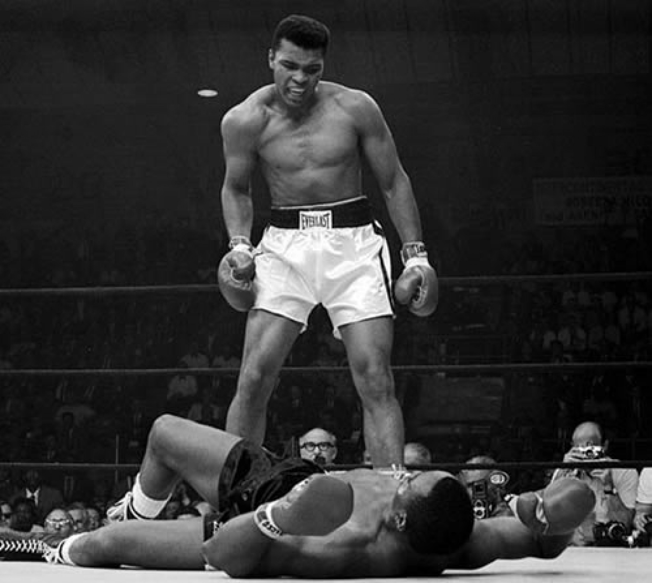 Muhammad Ali Boxer in action
