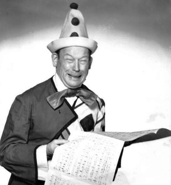 Fred Allen clown