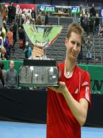 Dieter Kindlmann with Trophy