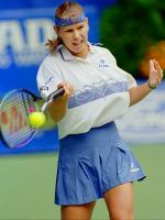Anke Huber in Match
