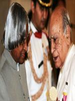 A K Hangal with abdul Kalam