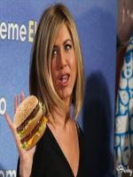 Jennifer Aniston ate a big Mac