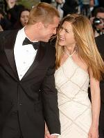 Jennifer Aniston with brad