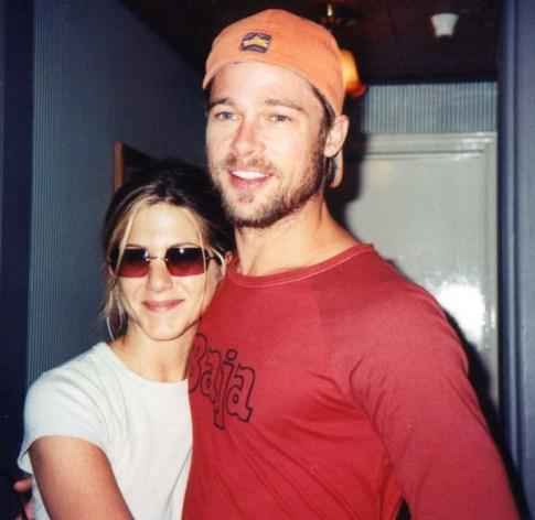 Jennifer Aniston with husband