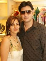 Abbas (actor) With His Family
