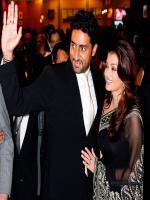 Abhishek Bachchan with His Wife