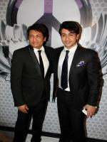 Adhyaan Suman and his Father