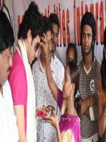 Adhyaan Suman celebrates raksha bandhan