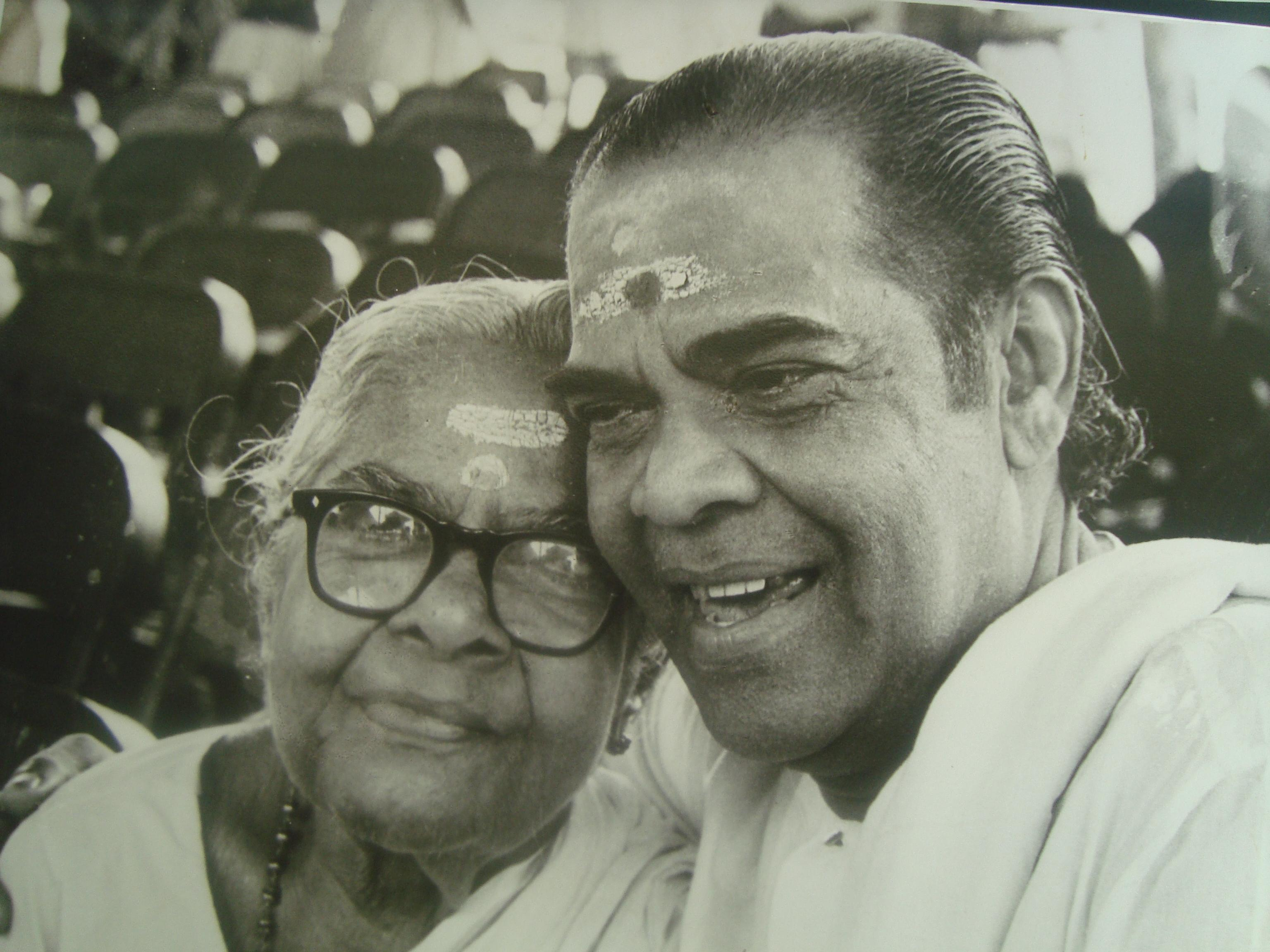 Adoor Bhasi With Family