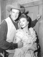 James Arness with Hollywood actress