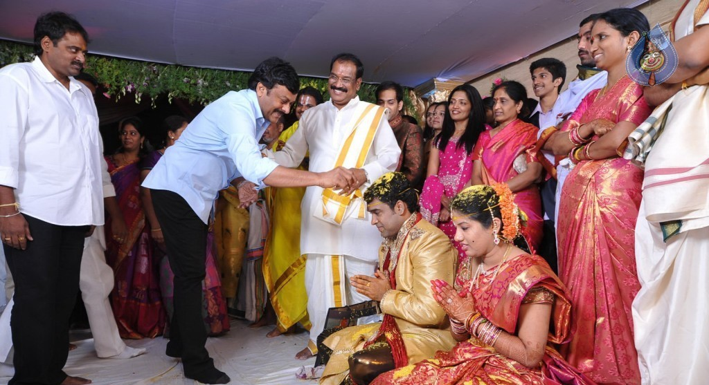 Ahuti Prasad in his Son's Wedding