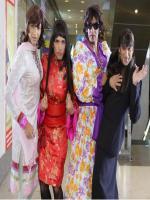 Ajay Devgan, Arshad Warsi, Tusshar Kapoor, Shreyas Talpade in female d