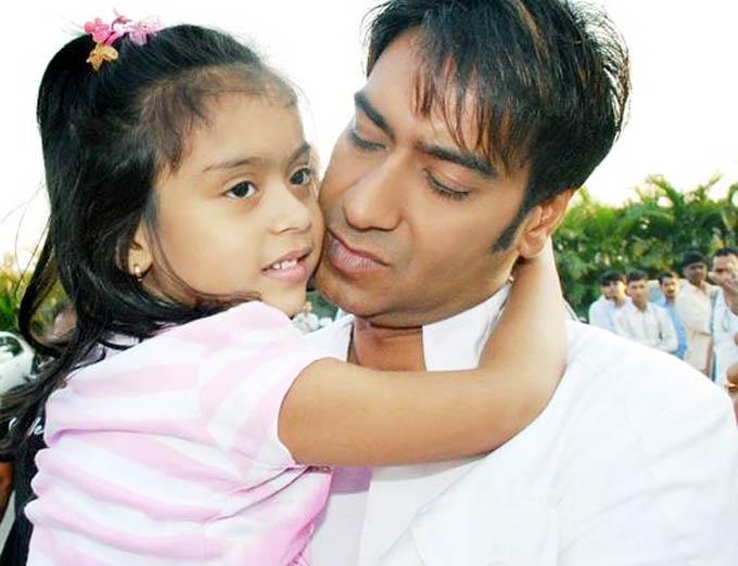 Ajay Devgan and Kajol's Daughter