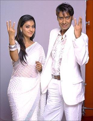 Ajay Devagon and Kajol wedding Photos