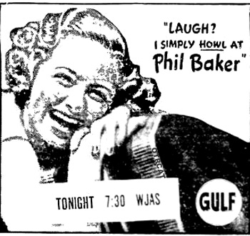 Phil Baker TV Actor
