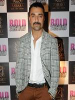 Ajaz Khan during the launch of film