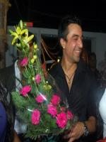 Ajaz Khan in party