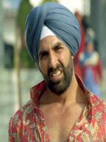 Akshay Kumar in movie Singh is King