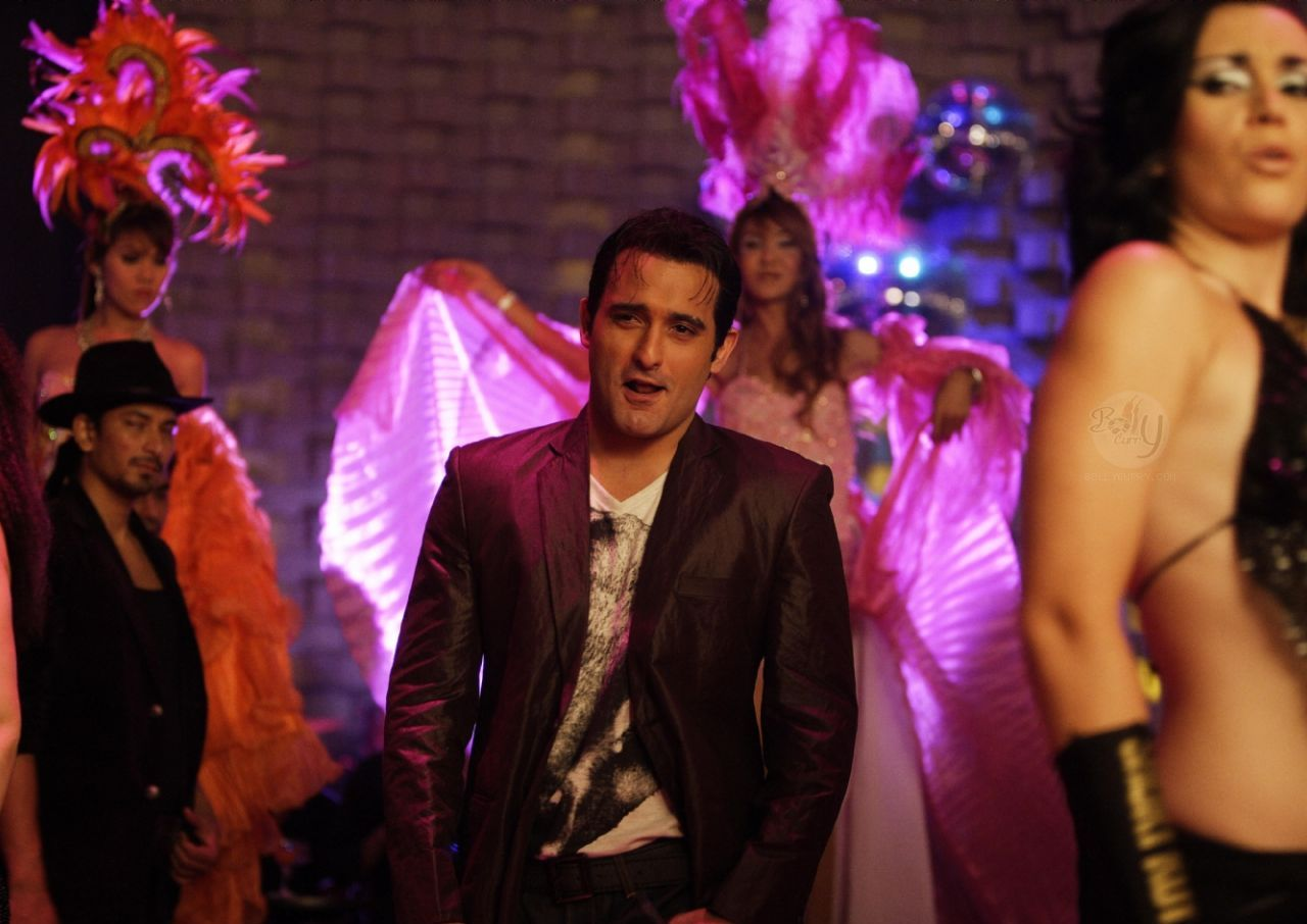 Akshaye Khanna in a song